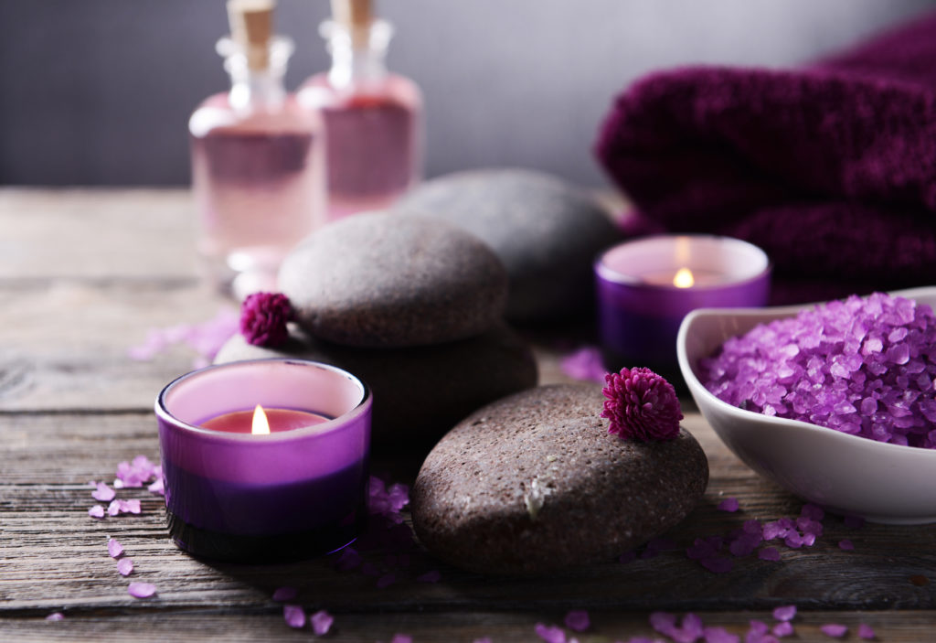 Reflexology Candles